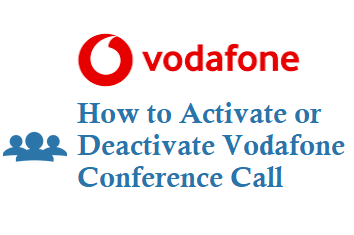 How to Activate Deactivate Vodafone Conference Call for prepaid postpaid customer