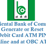 How to Reset or Generate OBC Debit Card ATM Card PIN Online