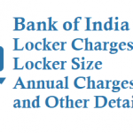 Bank of India Locker Charges Deposit Charges How to open Locker and Other Details