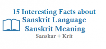 15 Interesting Facts about Sanskrit Language