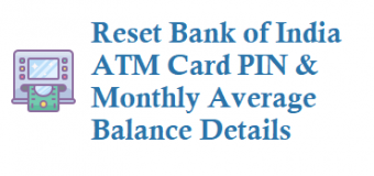 How to Reset Bank of India ATM Card PIN Debit Card PIN and Other Details
