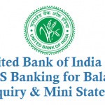 United Bank of India SMS Banking for Balance Enquiry Mini Statement and Other Details