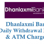 Dhanlaxmi Bank Daily Withdrawal Limit ATM Charges and Other Details