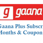 Free Gaana Plus Subscription for 3 Months