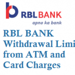 RBL Bank Daily Withdrawal Limit from ATM Charges and Other Details