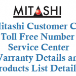 Mitashi Customer Care Number Toll Free Number Service Center Warranty and Other Details