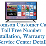 Thomson Customer Care Number Installation Warranty Service Center and Other Details