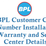 BPL Customer Care Number Installation Warranty and Service Center Details
