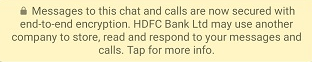 Is HDFC Bank WhatsApp Banking secure