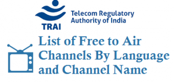 List of Free to Air Channels By Language and Channel Name