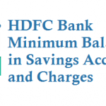 HDFC Bank Minimum Balance in Savings Account and Charges