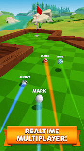 online golf game for friends and family