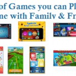 List of Games you can Play Online with Family and Friends