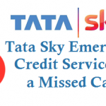 Tata Sky Emergency Credit Service By Missed Call