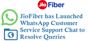 JioFiber has Launched WhatsApp Customer Support Chat