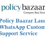 Policy Baazar Launches WhatsApp Customer Chat Support Service