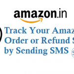 Now Track Your Amazon Order or Refund Status by Sending SMS