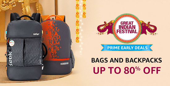 Amazon Offers on Bags and Backpacks