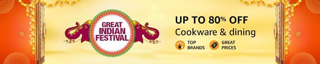 Up to 80% Off on Cookware and Dining