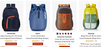Today's Best Amazon Offers on Bags Luggage Bags Backpack and Others