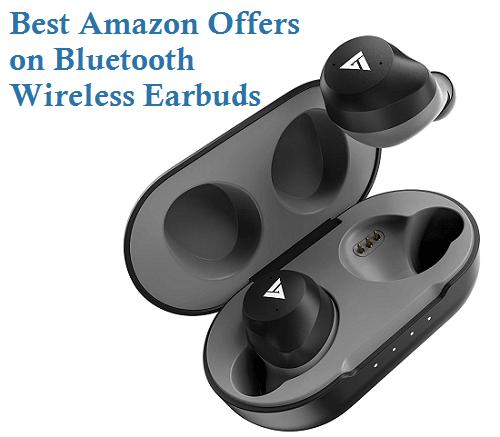 Best Amazon Offers on Bluetooth Wireless Earbuds True