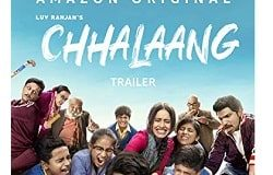 Chhalaang Meaning in English Hindi Telugu Tamil Kannada and Other Movie Details
