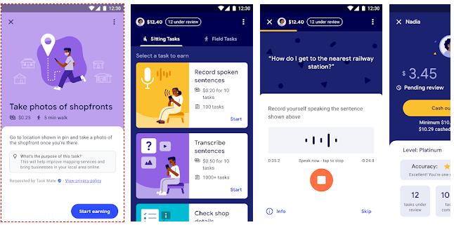 Earn Money Using Google Task Mate App