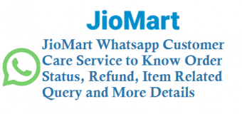 JioMart WhatsApp Customer Care Service Number