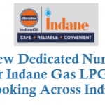 New Dedicated Number for Indane Gas LPG Refill Booking